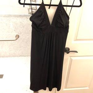 Susana Monaco Black Halter Dress